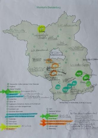 Brandenburg-Moorkarte