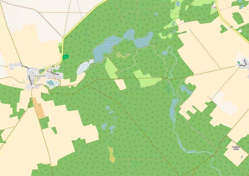 Trautzke-Seen und Moore: Mirjam's topographischeNomenklatur
